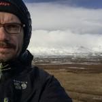 Tagesselfie mit Snæfellsjökull
